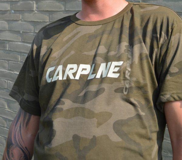 Camo t shirt CarpLne voorkant