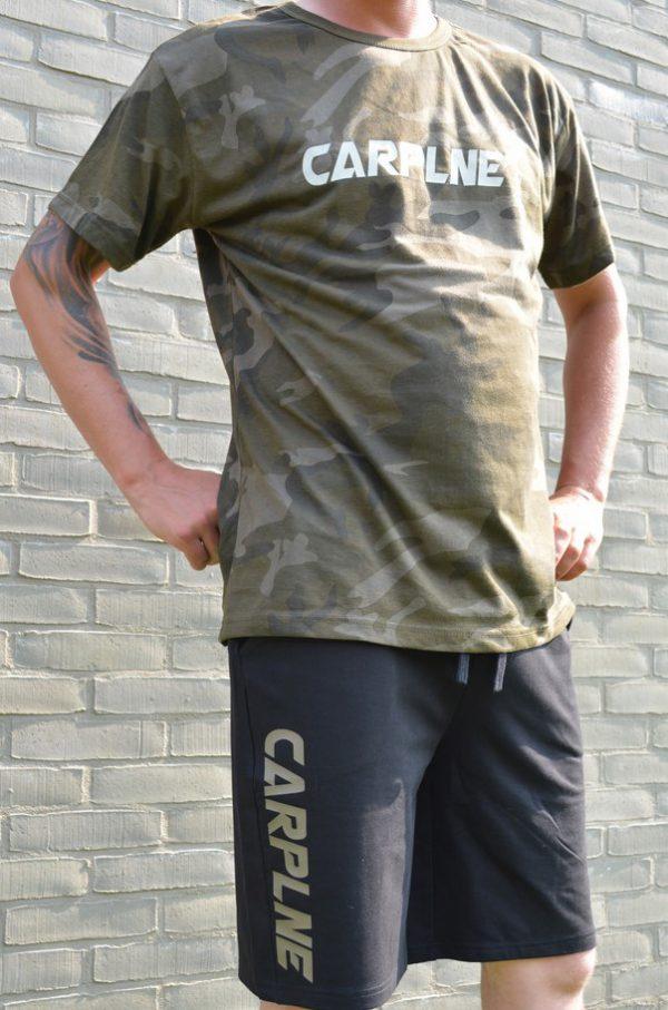 Camo t shirt CarpLne + short
