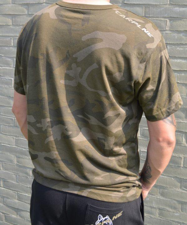 Camo t shirt CarpLne achterkant