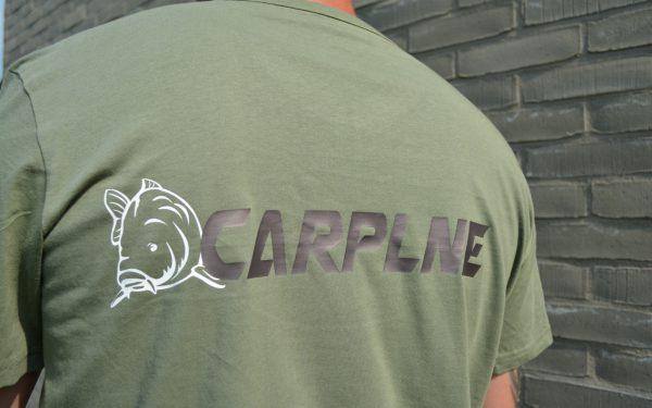 CarpLne shirt olive achterkant