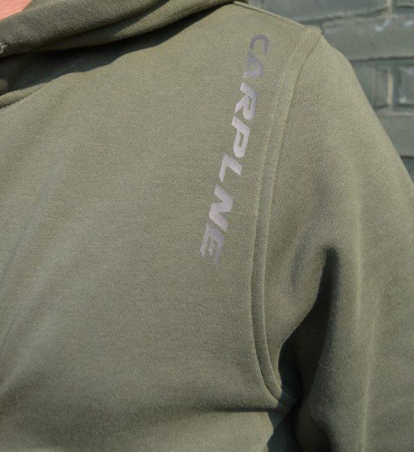 CarpLne heren hoodie*** voorkant detail