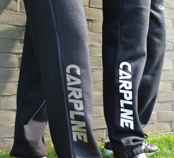 CarpLne jogpants wit en licht olive bedrukking