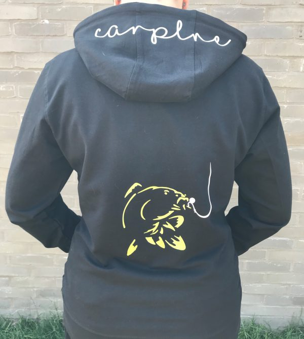 Karper hoodie vest Dames CarpLne