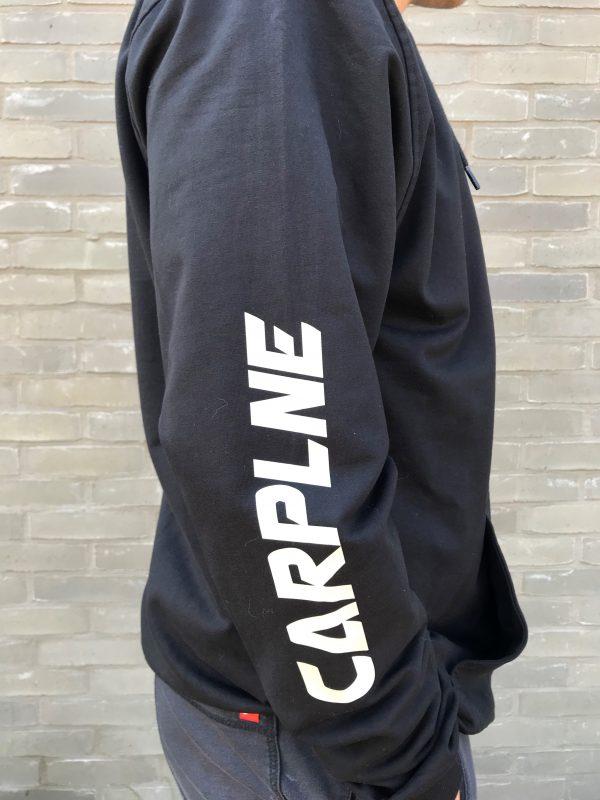 hoodie vest heren zijkant