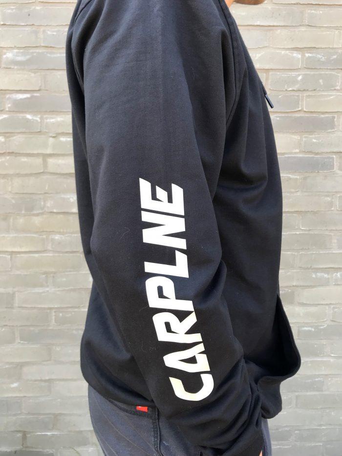 Heren Hoodie Vest.Carplne Hoodievest Heren Carplne