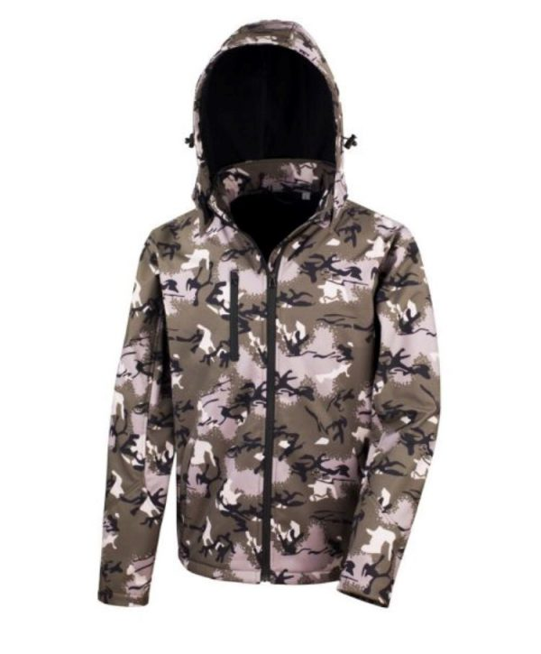 CarpLne softshell camo green