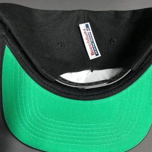 CarpLne Snapback cap met groene onderkant