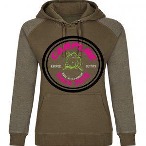 CarpLne Dames Karper hoodie met retro logo