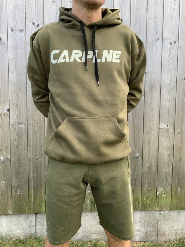 CarpLne hoodie olijf voorkant