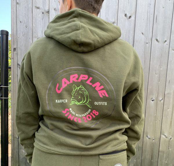 Carplne hoodie achterkant hotpink