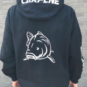 hoodie vest heren rug